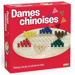 DAMES CHINOISES EN BOIS...