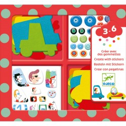 CREATE WITH STICKERS - I...