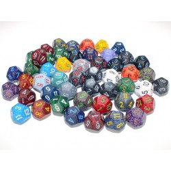 SPECKLED D12 DICE
