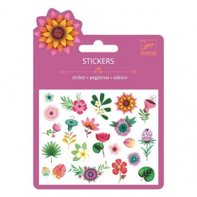 STICKERS TROPICAL FLOWERS